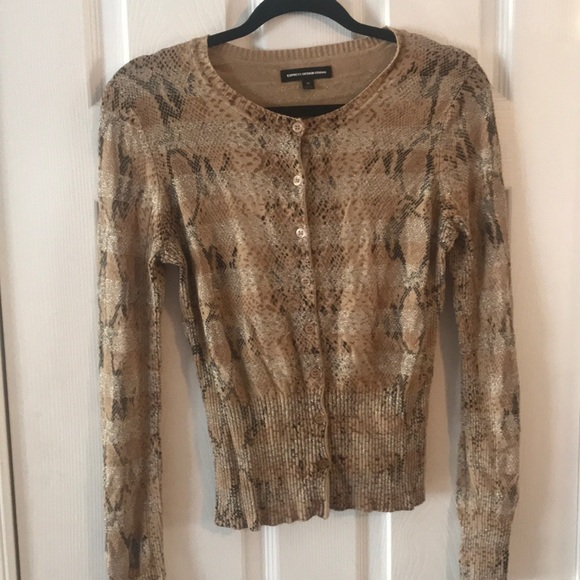 Express Sweaters - Express Sparkle Cardigan